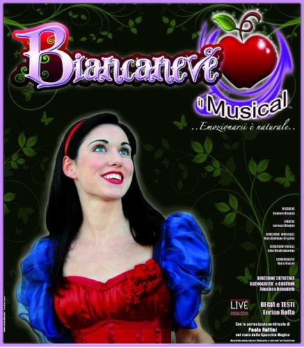 BIANCANEVE – Il Musical