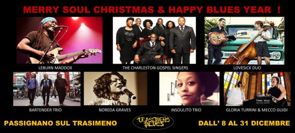 Merry Soul Christmas & Happy Blues Year